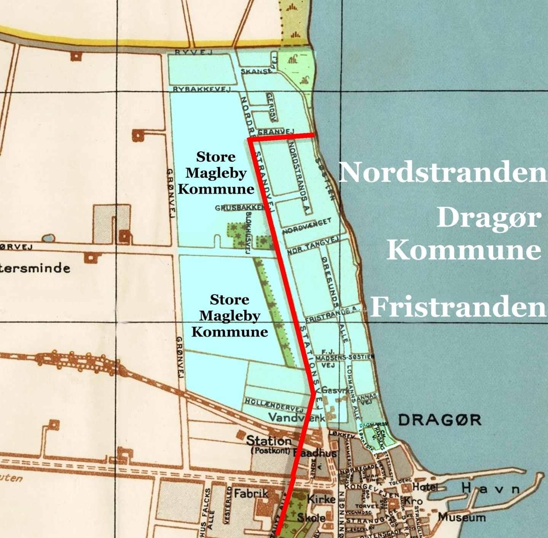 Nordstranden - Fristranden - Dragør
